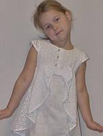"""Летнее платье для девочки """"Очаровашка"""" на рост 110-134 см"""