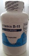 Vitamin B15, (Пангамовая кислота), Cyto Pharma, Vitamin B15, 100 caps