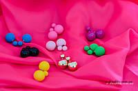 Сережки Весняні Кульки, фото 1