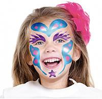 "Краски для лица (грим, аквагрим) тематические ""Принцесса"""