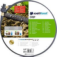Шланг сочащийся  DrIp  ( ТМ CELLFAST ) 1 /2 7,5 метров