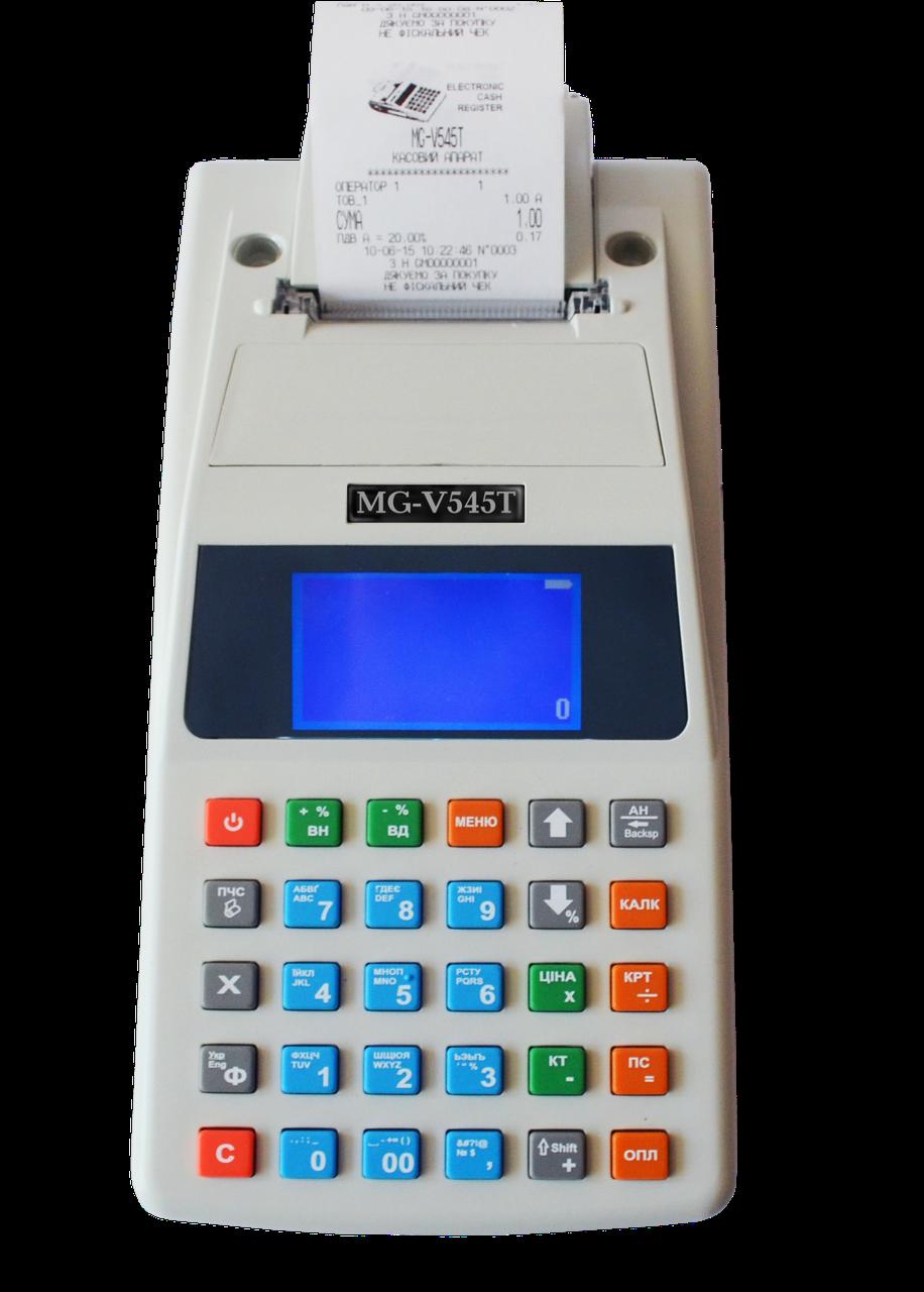 Кассовый аппарат MG-V545T (Кассовый аппарат + блок питания+GSM)