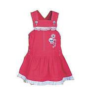 Детское платье-сарафан для девочки р 80, 104 см