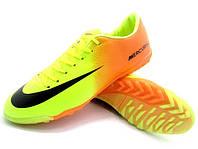 Сороконожки Nike Mercurial Victory IV TF citrus, фото 1