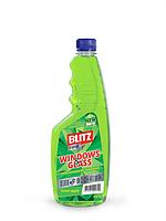 Засіб для миття скла Blitz Крістал 750 мл запаска зелена