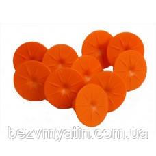 Клеевой грибок Orange Round Glue Tabs, 1шт.