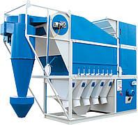 Очистка зерна оригинальной зерноочистительной техникой сепаратор САД-100 с циклоном