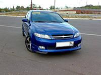 """Накладка на передний бампер Chevrolet Lacetti Hb """"GM"""", Шевроле Лачетти, фото 1"""