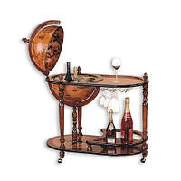 Глобус бар напольный со столиком G400-G