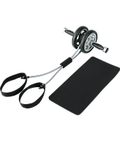Колесо-триммер двойное с эспандером PS FI-700TR (d колеса-14см,мет,пласт,рез,ручка-рез,l 2эсп-100см)
