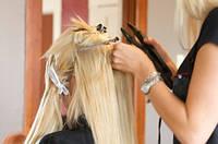 Наращивание волос в салоне красоты SOLT Beauty