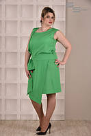 Платье зеленое Дания (размеры 42-74)