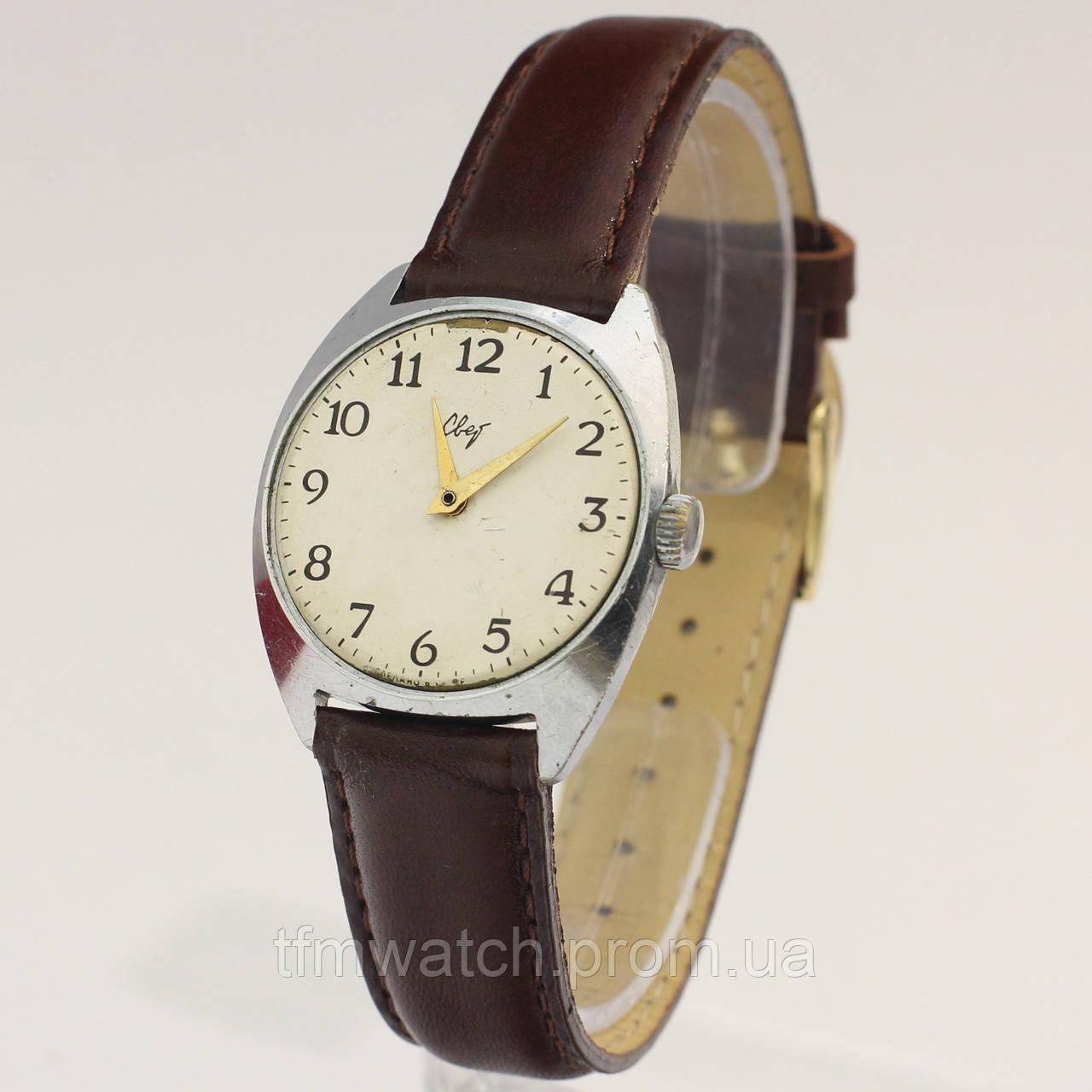 Свет механические часы СССР