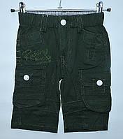 Бриджи для мальчика 1,5-4 года H&L темно-зеленые