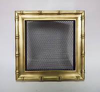 Решетка каминная гальванизированная Kratki, Diana золото