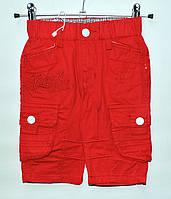 Бриджи для мальчика 1,5-4 года H&L красные