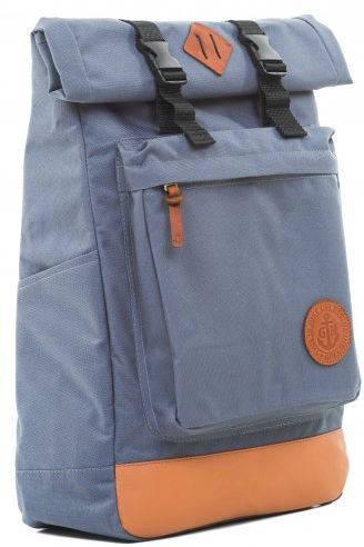 Практичный рюкзак с отделением для ноутбука 16 л Gin Авиатор, серый