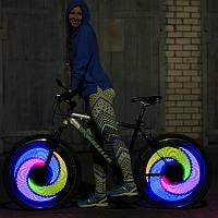 Подсветка для велосипеда на 16 светодиодов