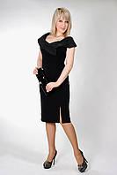 Женское нарядое платье черное
