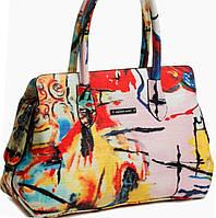 Яркая многоцветная женская сумка