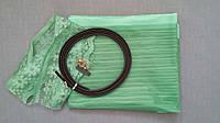 Антимоскитная сетка на магнитах в дверной проем, зеленая, 90*210 см