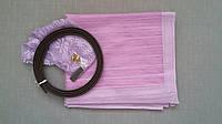 Антимоскитная сетка на магнитах в дверной проем, фиолетовая, 90*210 см