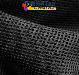 Трикотаж неопреновая сетка черная