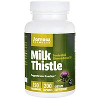 Защита печени - Экстракт Расторопши / Симлимарин / Milk Thistle, 150 мг 200 капсул