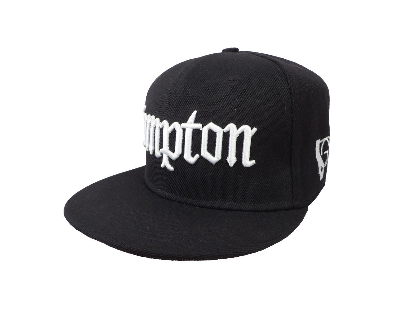 Черная кепка Compton (реплика)