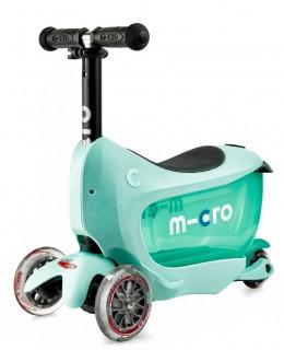 Самокат Mini Micro 2go Deluxe Mint (Мятный)