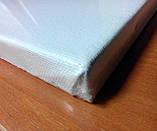 Холст чистый на подрамнике, грунтованный,  40х20 см., фото 7