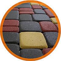 Поребрик фигурный квадратный цвет серый (500x80x250)