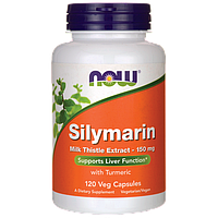 Здоровье печени - Силимарин Экстракт Расторопши / Silymarin Milk Thistle Extract, 150 мг 120 вег.кап