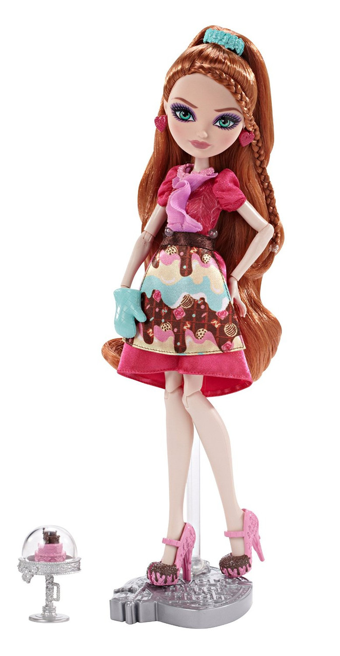 Кукла Эвер Афтер Хай Холли Охэйр серия Покрытые сахаром Sugar Coated Holly O'Hair