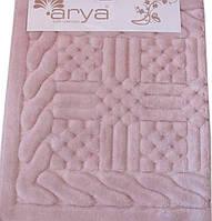 Набор ковриков для ванной  Arya  Berceste розовый
