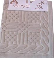 Набор ковриков для ванной  Arya  Berceste бежевый