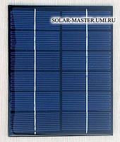 Солнечная панель 2 Вт. 6V