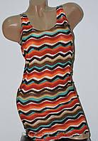 Женская летняя туника цветная