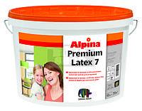 Alpina Premiumlatex 7 B1 Полуматовая краска для стен и потолка 10л