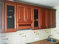 Кухонные мебельные фасады из дерева. Массив - ольха, дуб.