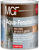 Аква-эмаль для окон и дверей MGF Aqua-Fensterlack 0,75 л