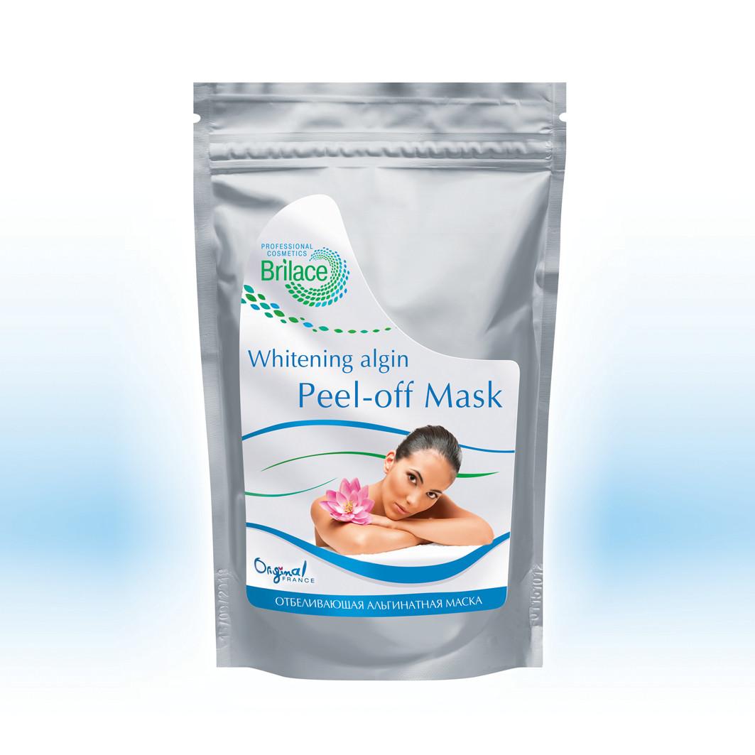 Маска з яскравою відбілювальною дією Brilace Whitening algin peel-off mask 150г