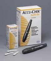 Ручка прокалыватель Акку-Чек Софткликс Accu-Chek Softclix перфоратор, фото 1