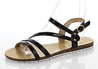 Женские сандалии Жанна Черный, фото 1