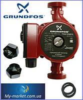 Насос циркуляционный Grundfos UPS 25-60-180 вал металл