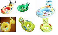 Детская лодочка для плавания с ножками BT-IG-0014 (TS-1239-01) 6 видов в ассортименте, лодочка надувная