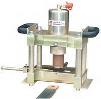 Машина для обработки пластинчатых токоведущих шин Alfra