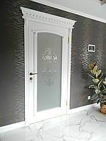Двери межкомнатные М-26 деревянные из массива ясень