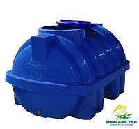Пластиковый бак Euro Plast горизонтальный 350 литров RGД 350 двухслойный