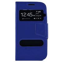 Чехол книжка Original Cover для Samsung Galaxy S3 i9300 Blue